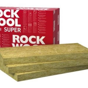 Wełna mineralna Rockwool SUPERROCK 50, 100, 150, 200 mm