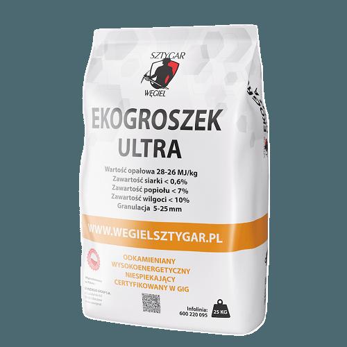 Węgiel Sztygar Ekogroszek ULTRA - worki 25 kg
